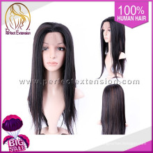 Popular Import Items Remy Human Hair Afro Lace Front Wig Men
