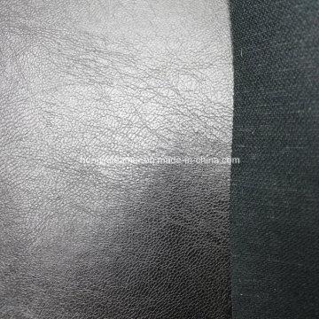 Cuero sintético suave para el sofá con alta calidad