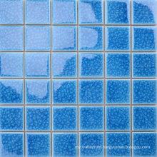 for Villa Garden Swimming Pool Decorative Blue Ceramic Mosaic Tile