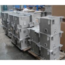 Peças da caixa de engrenagens de fundição de fundição de alumínio em areia