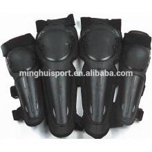 Le coude et les genoux protecteurs forts de motocyclette de moto protègent la protection de coude de genou de course de vélo