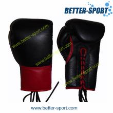 China Guante de boxeo de cuero, la competencia de los guantes de boxeo