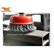 Bowl Twist Wheel Brush with Good Quality
