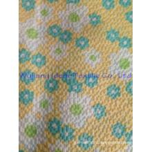 polyester cotton print seersucker / seersucker fabric
