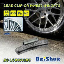0,50 Unzen 1/2 Unzen Mc Style Stahl Rad Gewicht