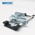 E / FE-2 Pince de rail DIN en acier galvanisé / accessoires