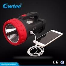 Beweglicher LED-Scheinwerfer mit USB-Aufladeeinheit, Kampieren / Jagd LED-Scheinwerfer