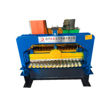 CE ISO Roof corrugated roll forming machine