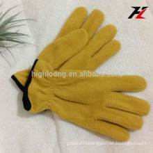 Factory price full finger fleece gloves with good quality