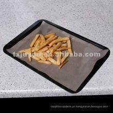 Forro de fibra de vidro teflon forno