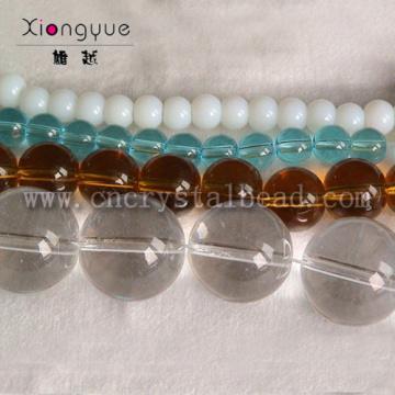 8mm 10mm 12mm shining Glass Bead Strand