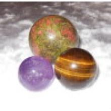 Подарочный набор из ромба с бриллиантовой сферой из полудрагоценных камней