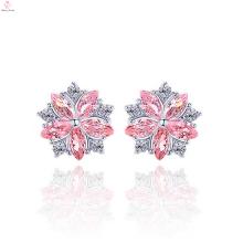 Beautiful Flower Designs 925 Sterling Silver Earrings Stud