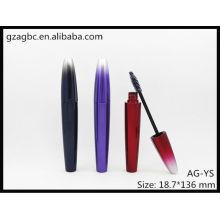 Charmant & vides en plastique spécial-formé Mascara Tube AG-YS, AGPM emballage cosmétique, couleurs/Logo personnalisé