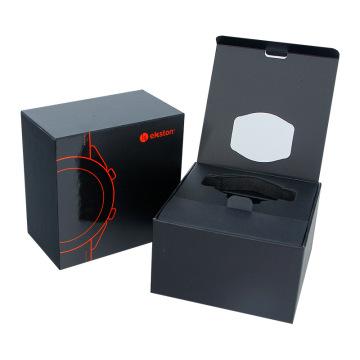 Boîte d'emballage de montre électronique de montre à quartz magnétique personnalisée