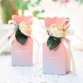Baby shower paper flower candy box