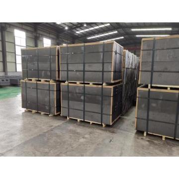 bloque de grafito de carbono isostático de alta pureza y estructura fina