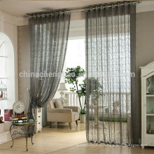 Home decoração organza rendas tecido cortina sala de estar para varanda