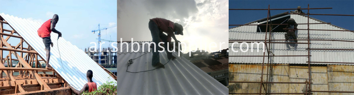 Sound&heat Insulation Impact Resistant MgO Roof Sheets