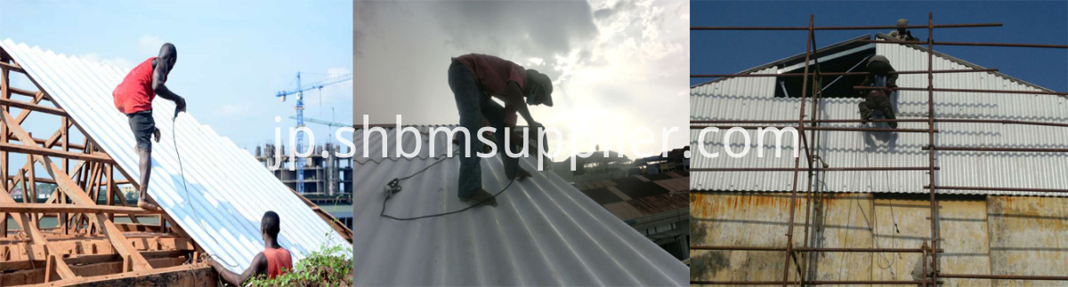 High Strength Fireproofing MgO Corrugated Roofing Sheet