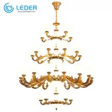 Luminarias colgantes de cristal LEDER