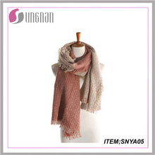 2015fashion Popular Online Wholesale Cheap Cashmere Scarf Knit Tartan Scarf Thick Cashmere Scarf