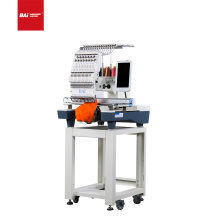 BAI Durable quality multi-functional single head 12 needles computer hat embroidery machine for sale
