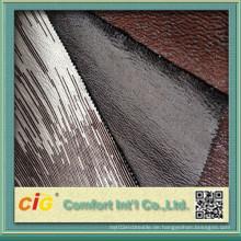 Polyester Bronzing Micro Wildleder Stoff