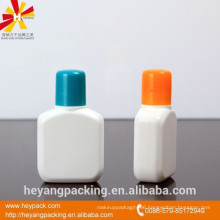 25ml PE cosmetic plastic bottle for liquid soap