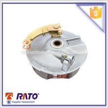2016 hot sale high quality motorcycle front brake drum with 110mm brake shoe