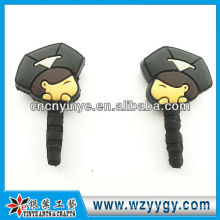 OEM rubber phone dust plug for gift promotion