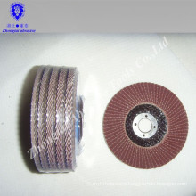 Manufacture high quality hand use Aluminum oxide flap disc for sale