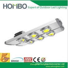 HOMBO Super lumineux LED Street Lights 80W ~ 300W Aluminium LED Lampe de rue 5 ans Garantie Waterproof Outdoor Lights