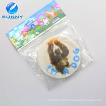 Cheap 2D Printed Eraser for Children, Round Shape Eraser