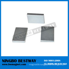 NdFeB Grade 3 Ferrite Magnet Block W/Ni Coating