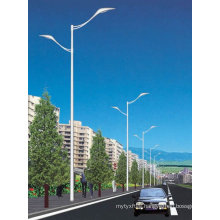 Customized Dual-Arm Street Light Steel Pole