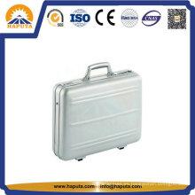 Aluminio portable negocio agregado maletín (HL-5209)