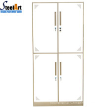 Лучшие продажи четырех дверей используются стальные железном шкафу шкаф