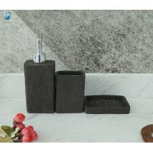 Fashional Haushalt Bad Zubehör Großhandel umweltfreundliches Badezimmer Sanitär-Set
