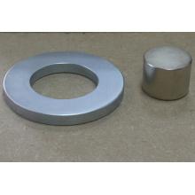 Imán de anillo permanente Neodimio Boro de hierro