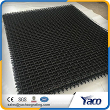 65Mn Crimped Wire Mesh Wire screen mesh for crushers 10mm aperture 4mm wire