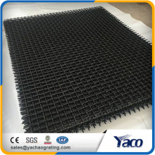 65Mn engranzou a malha da tela de fio da rede de arame para o fio da abertura 4mm dos trituradores 10mm