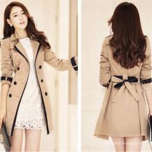 Manteau d'hiver à double boutonnage pour femme (50071)