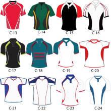 Maillots / uniformes en gros Rugby personnalisés