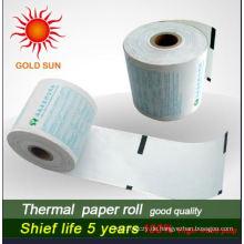 Empfindlich gegen Hitze und Farbe ATM Thermopapier