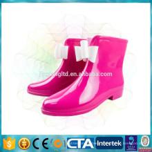 New PVC rain boots fashion ladies boots