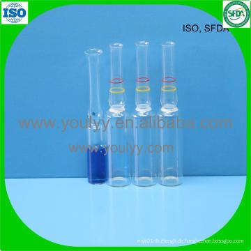 2ml Klare medizinische Ampulle