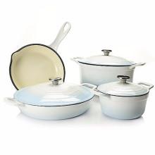 Gusseisen Kochgeschirr Set für Küche Verwendung