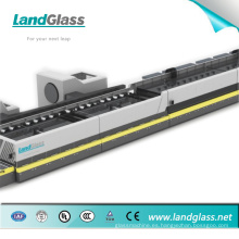 Máquina de endurecimiento de vidrio plano de cámara doble Landglass