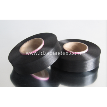 black bare spandex yarn